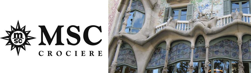Copertina MSC Barcellona